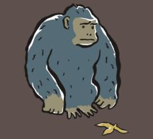 sad ape by greendeer