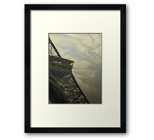 Eiffel Tower -View from Champ de Mars Framed Print