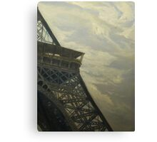 Eiffel Tower -View from Champ de Mars Canvas Print