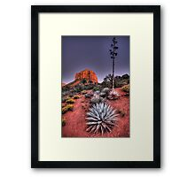 Sedona Twilight Framed Print