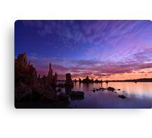 Sunrise at Mono Lake Canvas Print