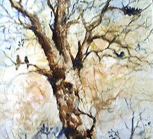 Winter Tree by Artzart