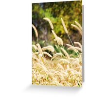 Blowin' in the Wind  Greeting Card