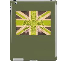 Army style Union jack flag T-shirt iPad Case/Skin