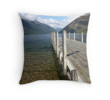 Nelson Lakes  Throw Pillow