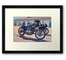 Number 211 Framed Print