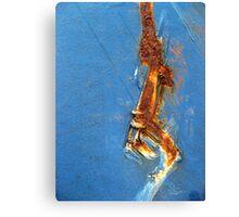 Rusty Stripe Canvas Print
