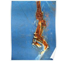 Rusty Stripe Poster