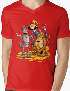 OZ TRIO Mens V-Neck T-Shirt