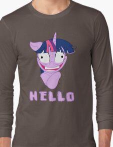 My Little Pony Twilight Sparkle Says Hello Long Sleeve T-Shirt