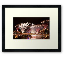Riverfire 2011 Framed Print