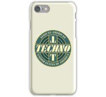 Vintage Techno Music iPhone Case/Skin