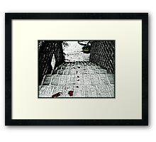 The Trail of Murder Framed Print