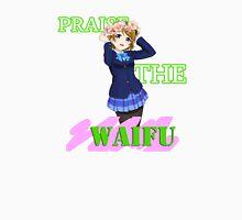 Hanayo - Praise the waifu Women's Fitted Scoop T-Shirt