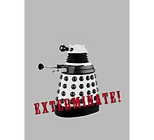 Doctor Who, Dalek, exterminate! Photographic Print