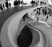 Down the Staircase  by Marzena Grabczynska Lorenc
