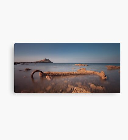 The anchor at Worms Head Canvas Print