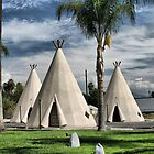 WigWam Motel on Route 66 by Judylee