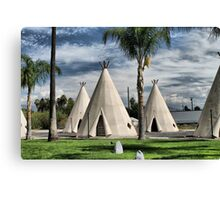 WigWam Motel on Route 66 Canvas Print
