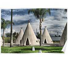 WigWam Motel on Route 66 Poster