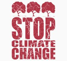 STOP CLIMATE CHANGE One Piece - Short Sleeve