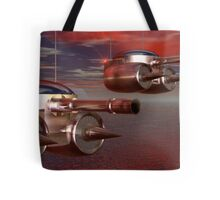 Remote Airbourne Artillery Drones Tote Bag