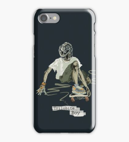 Trilobite Boy sk8 iPhone Case/Skin