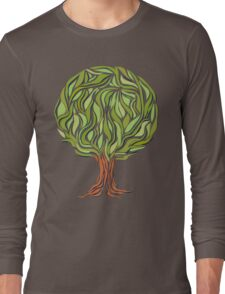 Illusion  tree Long Sleeve T-Shirt