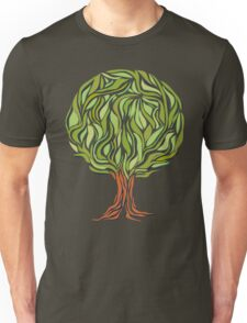 Illusion  tree Unisex T-Shirt
