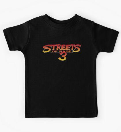 Streets of Rage 3 – Title Screen Kids Tee