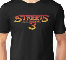 Streets of Rage 3 – Title Screen Unisex T-Shirt