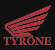 Honda Motorcycle TYRONE logo RED by FullMetalHead