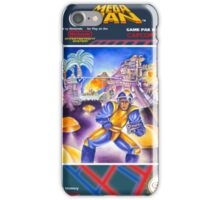 Mega Man 1 nes  iPhone Case/Skin