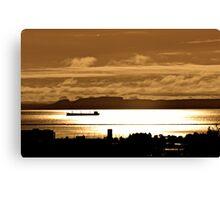 The Sleeping Giant Thunder Bay Canvas Print