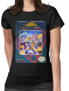 Mega Man 1 nes  Womens Fitted T-Shirt