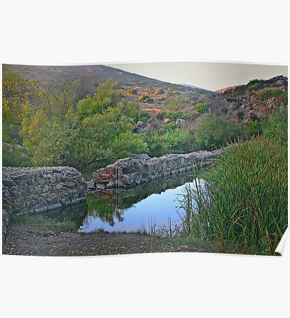 Old Mission Dam-Historic Landmark Poster