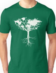 Earth tree *pearl white Unisex T-Shirt