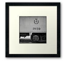 1859 Framed Print