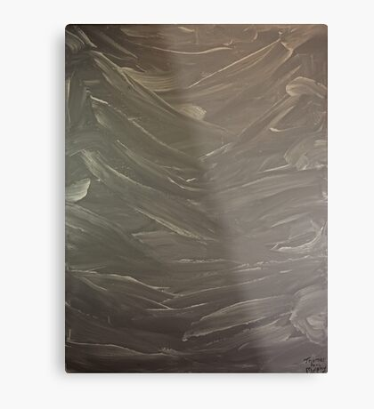 Abstract Valley Metal Print