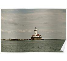 Chicago Navy Pier Light House Poster