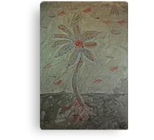 The Metal Flower Canvas Print