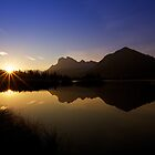 Vermillion Lakes by Rick Louie