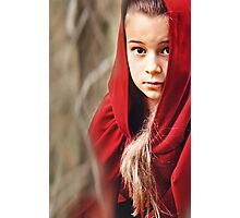 Little Red 7 Photographic Print