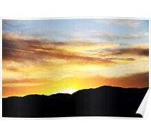 Rocky Mountain Sunset Poster