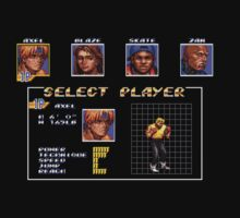Streets of Rage 3 – Select Axel by PonchTheOwl