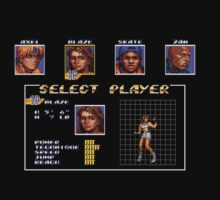 Streets of Rage 3 – Select Blaze by PonchTheOwl