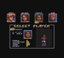 Streets of Rage 3 – Select Skate by PonchTheOwl
