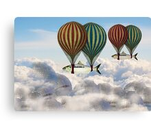 Fly the fish over Berlin Canvas Print