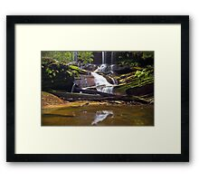 From a Trickle to a Flow Framed Print