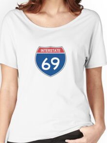 Interstate 69 Women's Relaxed Fit T-Shirt